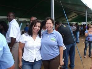 Vice-Prefeita Madalena Santa e a Blogueira Dê Pinho, Serra Notícias