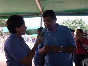 Prefeito Sérgio Vidigal em exclusiva ao Serra Notícias