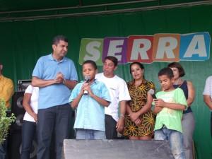 Dupla Mirim João Pedro e Felipe homenageia Sérgio Vidigal