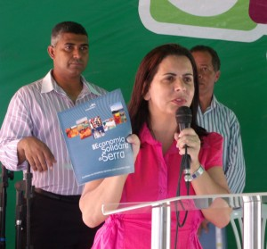 Vice-prefeita da Serra Madalena Santana (PSB-ES)