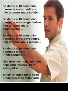 Texto e imagem do Professor Fábio Borges