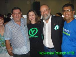 Dep.Sandro Locutor,Milena Ceolin,José L.Penna e Ronaldo Andrade