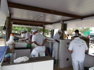 Comercialização de Tilápias na Lagoa do Juara