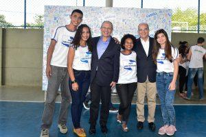 Governador  inaugura escola estadual na Serra