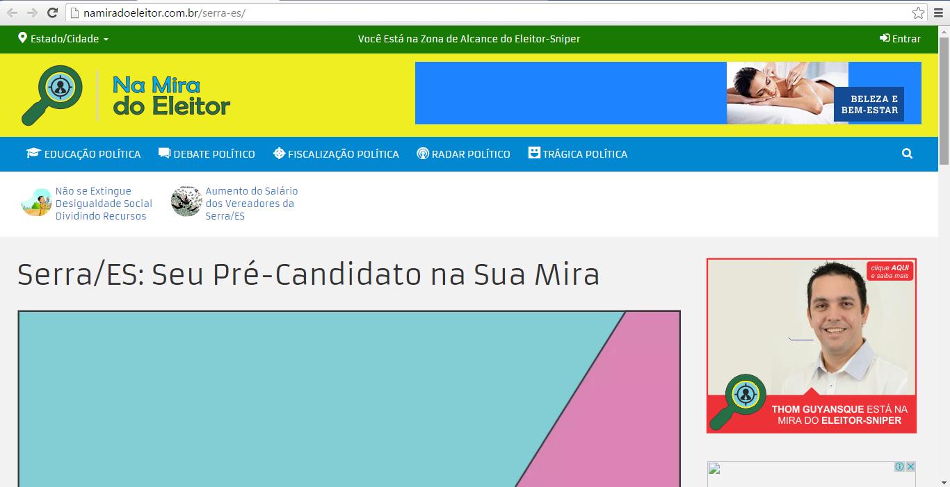 Democracia Digital na Serra ja é Realidade