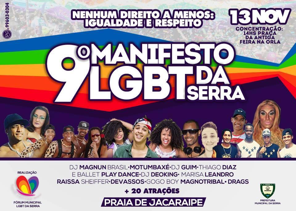 V Semana de cidadania LGBT de 05 a 13 de novembro