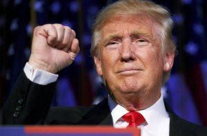 O republicano Donald Trump é novo presidente dos Estados Unidos