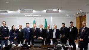 Bancada Capixaba se reuniu com o presidente Michel Temer