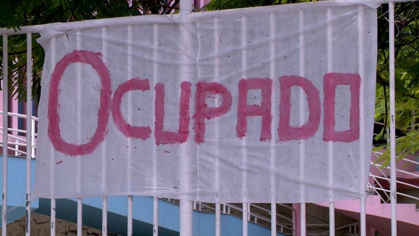 Estudantes protestam contra a PEC 241/2016