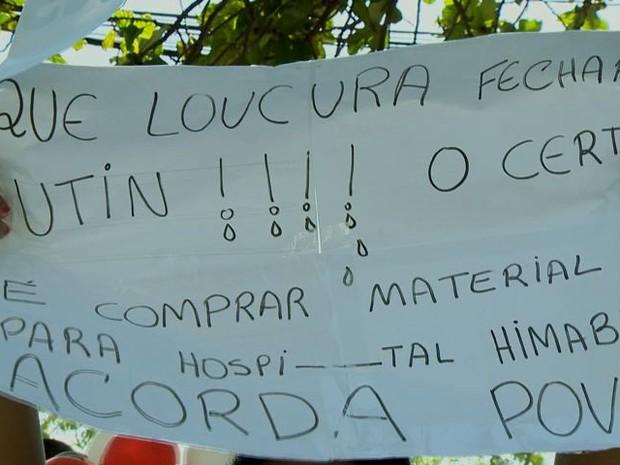 Câmara da Serra debate fechamento de UTIN do Dório Silva