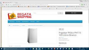 Cliente reclama de compra no site Regata Shopping