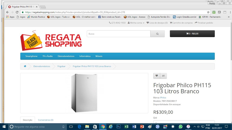 You are currently viewing Cliente reclama de compra no site Regata Shopping