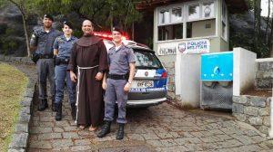 Polícia Militar reativa base de segurança do Convento da Penha