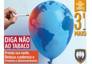 Polícia Militar promove ações contra o tabagismo