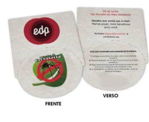 EDP Espírito Santo entrega mais de 2,5 mil kits com semente da planta que elimina o mosquito Aedes Aegypt